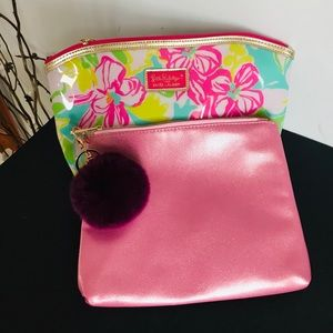 Set  of two ;Lilly Pulitzer  and no brands bag